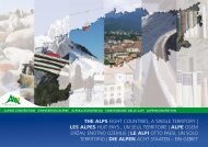 Les Alpes-huit pays, un seul territoire - Convenzione delle Alpi