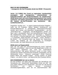 BEST OF BIO STEIERMARK - Mag. Franz-Jakob Purkarthofer ...