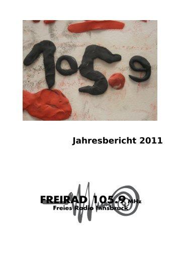 Jahresbericht 2011 - Freirad