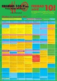 Oktober bis Dezember 2011 - Freirad