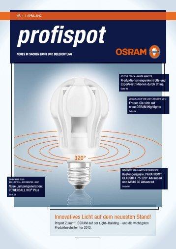 Innovatives Licht auf dem neuesten Stand! - Osram