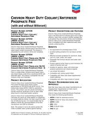 chevron heavy duty coolant/antifreeze phosphate free - Alexis Oil