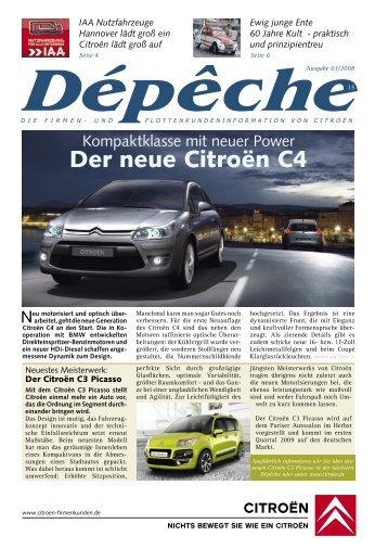 Dépêche 3. Quartal 2008 [PDF] - Citroën