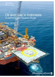 Oil and Gas in Indonesia - PwC