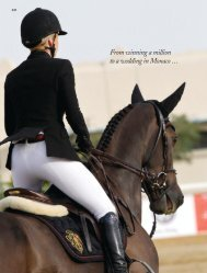 Edwina Alexander Article from Issue 3 of Equestrian Life Magazine