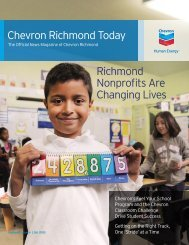 Chevron Richmond Today - Volume 2 Issue 4 - Q4 2010