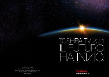 iL FUTURO HÀ iNiZiO. - Toshiba