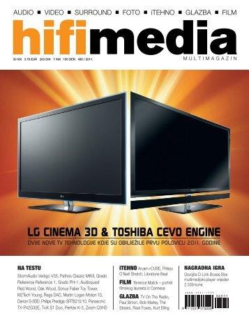 LG CINEMA 3D & TOSHIBA CEVO ENGINE - M2Tech
