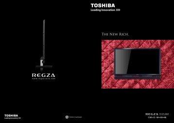 ZL800 Catalogue - Toshiba REGZA