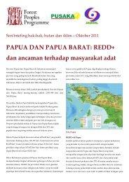 PAPUA DAN PAPUA BARAT - Forest Peoples Programme