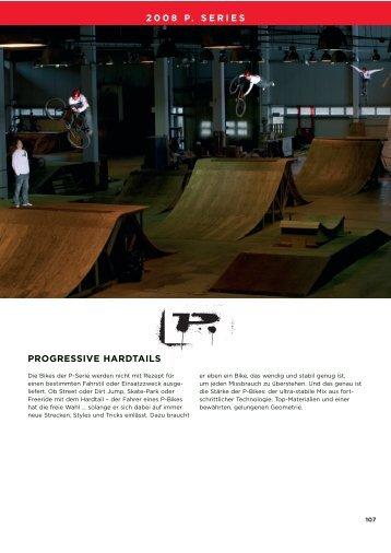 2008 p. series progressive hardtails - Ebener-Zweiradsport GmbH