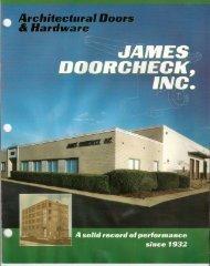 Brochure - James Doorcheck