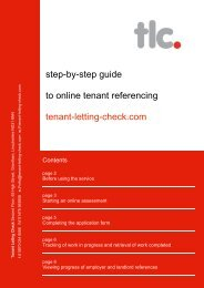 step-by-step guide to online tenant referencing tenant-letting ... - Login