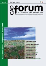 magazin für planer, designer und architekten