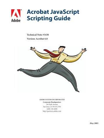 Acrobat javascript scripting guide