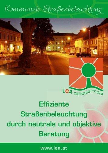 Folder - Lokale Energie Agentur