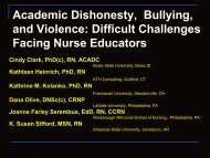 Academic Dishonesty, Bullying, and Violence - National League for ...