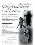 Allegro Celebrates Our 18th Anniversary! - Allegro Ballroom - Page 3