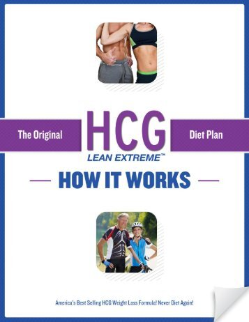 HCG Lean Extreme Diet Plan - I Burned Over 30 Pounds of Fat In ...