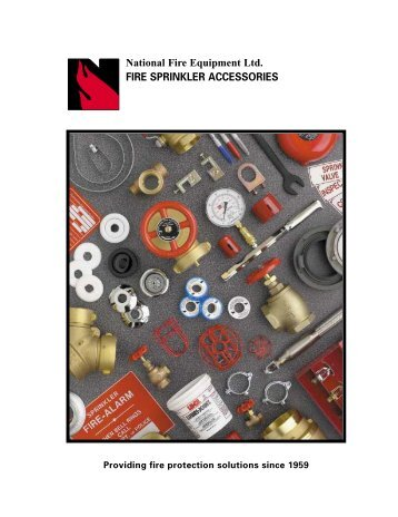 FIRE SPRINKLER ACCESSORIES - National Fire Equipment