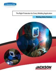 The Right Protection for Every Welding Application - Kimberly-Clark ...
