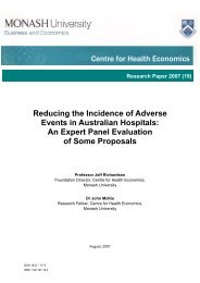 Reducing the Incidence of Adverse Events in Australian Hospitals ...