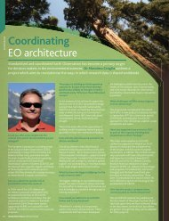 Coordinating EO architecture - EuroGEOSS