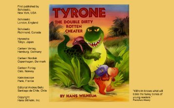 Tyrone the Cheater - Childrens Books forever
