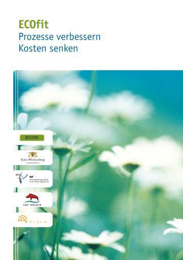 ecofit broschüre arqum_10 - Stadt Ebersbach an der Fils