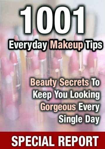 Discover The Little-Known Makeup Tips And Tricks That Can ...