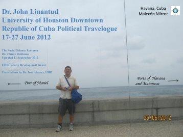 Havana-Plaza De La Revolución + Assorted Locations