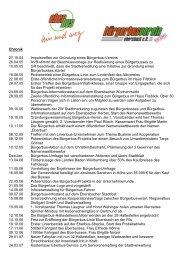 Chronik Bürgerbus - Stadt Ebersbach an der Fils