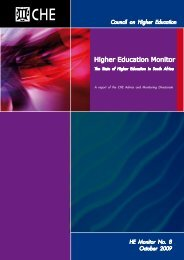 Higher Education Monitor - CHE