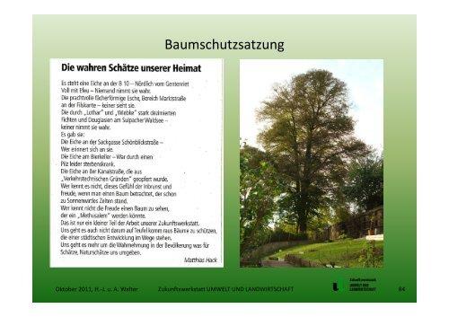 Baumschutzsatzung