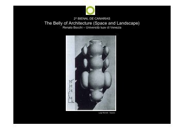 The Belly of Architecture (Space and Landscape) - Changing ...