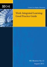 Work-Integrated Learning: Good Practice Guide - CHE