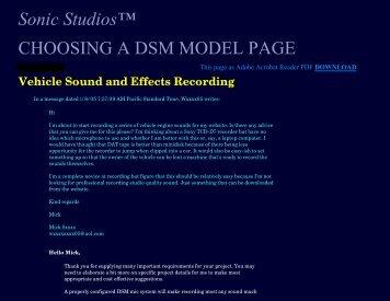 Subj - Sonic Studios