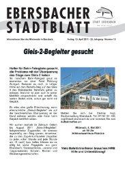 a˜ Kinder- und Jugendzentrum E3 - Stadt Ebersbach an der Fils