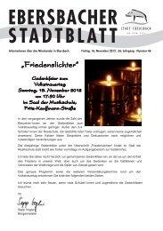 """Senioren- Adventsfeier """" Einstimmung zum Advent"""" - Stadt ..."""