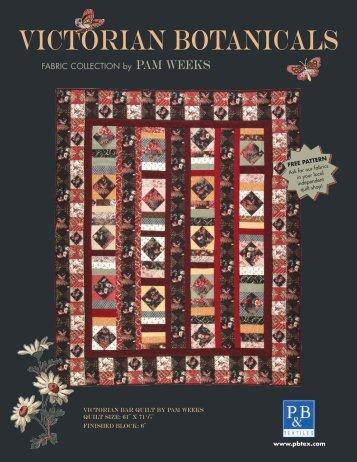 Victorian Botanicals - P&B Textiles