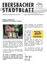 Sommerkonzert 2012 - Stadt Ebersbach an der Fils