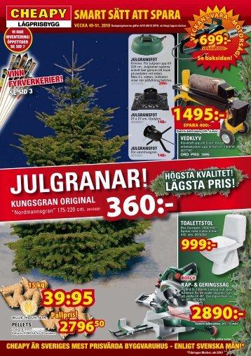 JULGRANAR! - Cheapy
