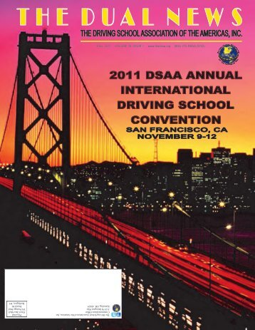 dsaa 2011 international convention - The Driving School ...