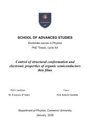 Control of structural conformation and electronic properties of ...