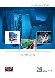 Materials Handling in Plastic   The Utz Group - Georg Utz AG
