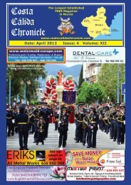 April 2012 Issue - Costa Calida Chronicle