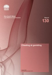 Cheating at gambling - Lawlink NSW - NSW Government