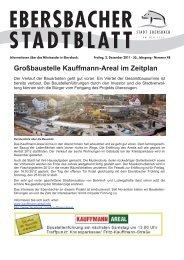 Großbaustelle Kauffmann-Areal im Zeitplan - Stadt Ebersbach an ...