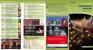 KULTURkalender Eberswalde Dezember 2012 - Stadt Eberswalde