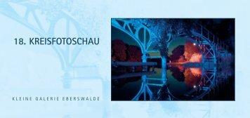 18. KREISFOTOSCHAU - Stadt Eberswalde